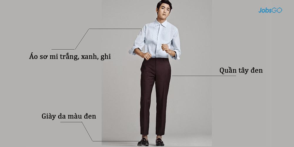 Kết quả hình ảnh cho mẹo lựa chọn trang phục khi đi phỏng vấn