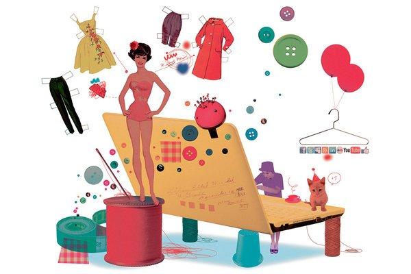 Kết quả hình ảnh cho Kinh doanh thời trang online