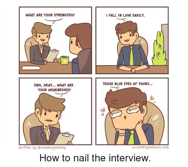 phỏng vấn tiếng anh