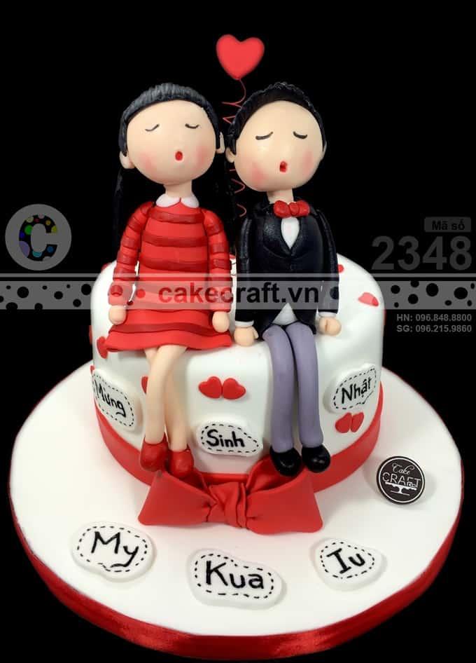 Chiếc bánh sinh nhật này mà tặng người yêu thì hết ý !