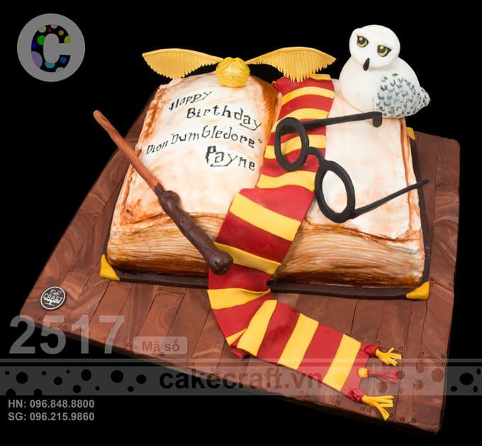 Nếu bé cực say mê Harry Porter, chiếc bánh này có thể làm bé cực kì sung sướng trong dịp sinh nhật