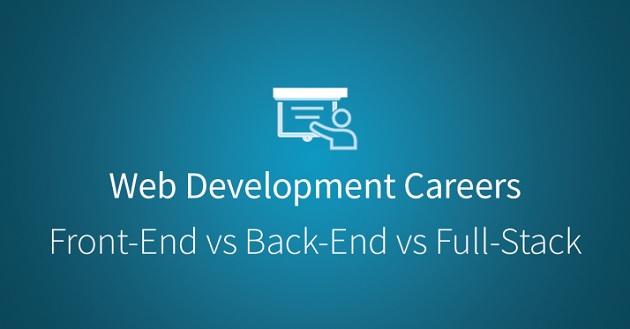 Làm thế nào để phân biệt Front-End, Back-End và Full-Stack trong phát triển web?