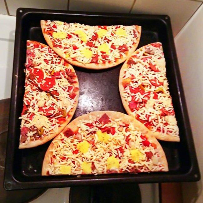 Nướng pizza