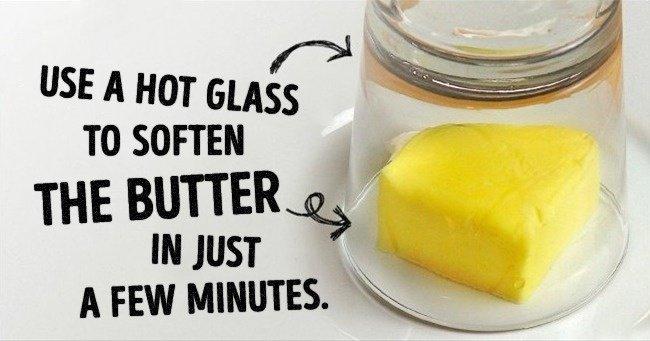 Làm mềm bơ