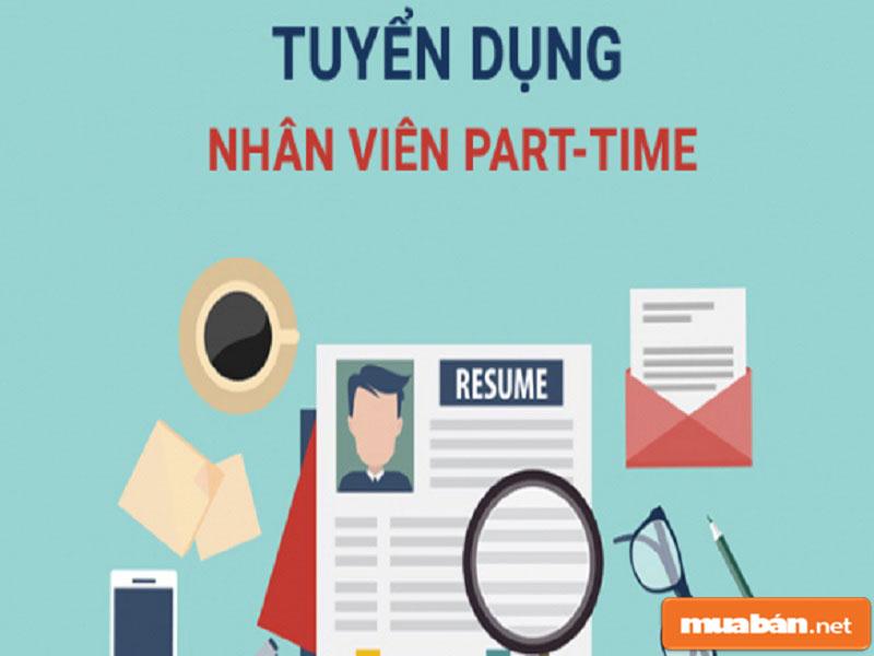Có nhiều kênh tuyển dụng việc làm part time tại Sài Gòn