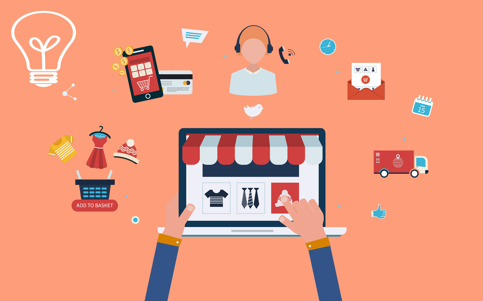 Ngườicộng tácviên bán hàng online là làm gì?