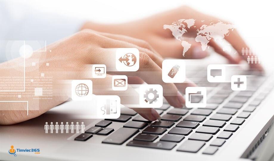 Timviec365.com hé mở cơ hội phát triển cao cho việc làm nhập liệu