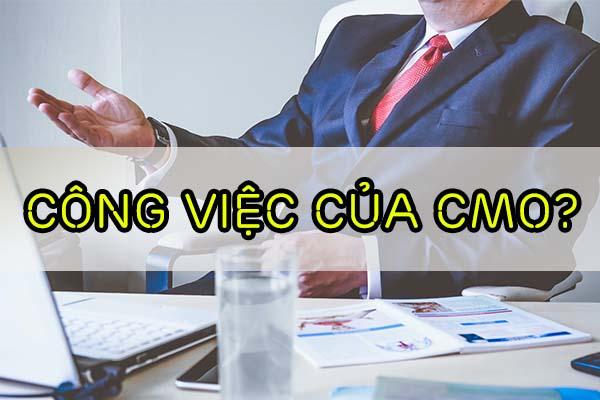 công việc của CMO là gì